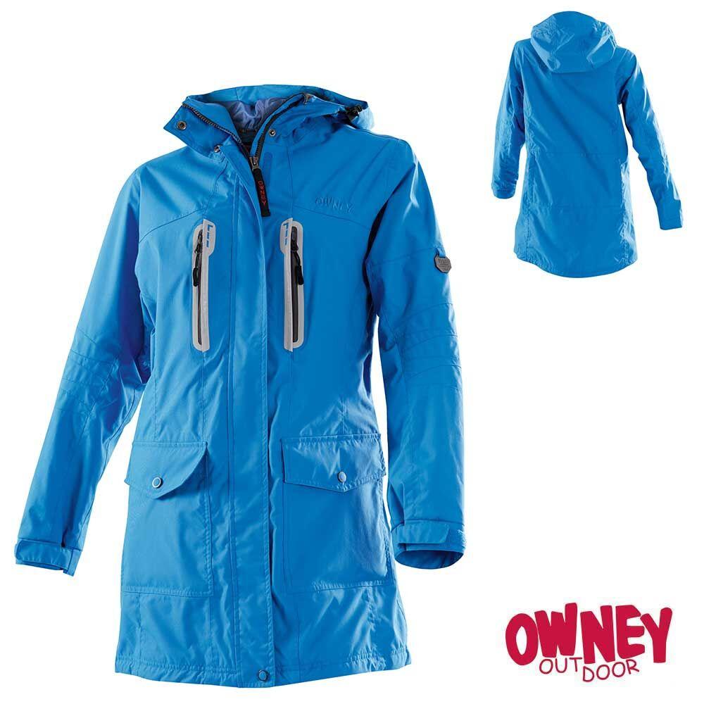 Owney Outdoor Softshell Mantel City Hiker Damen anthrazit
