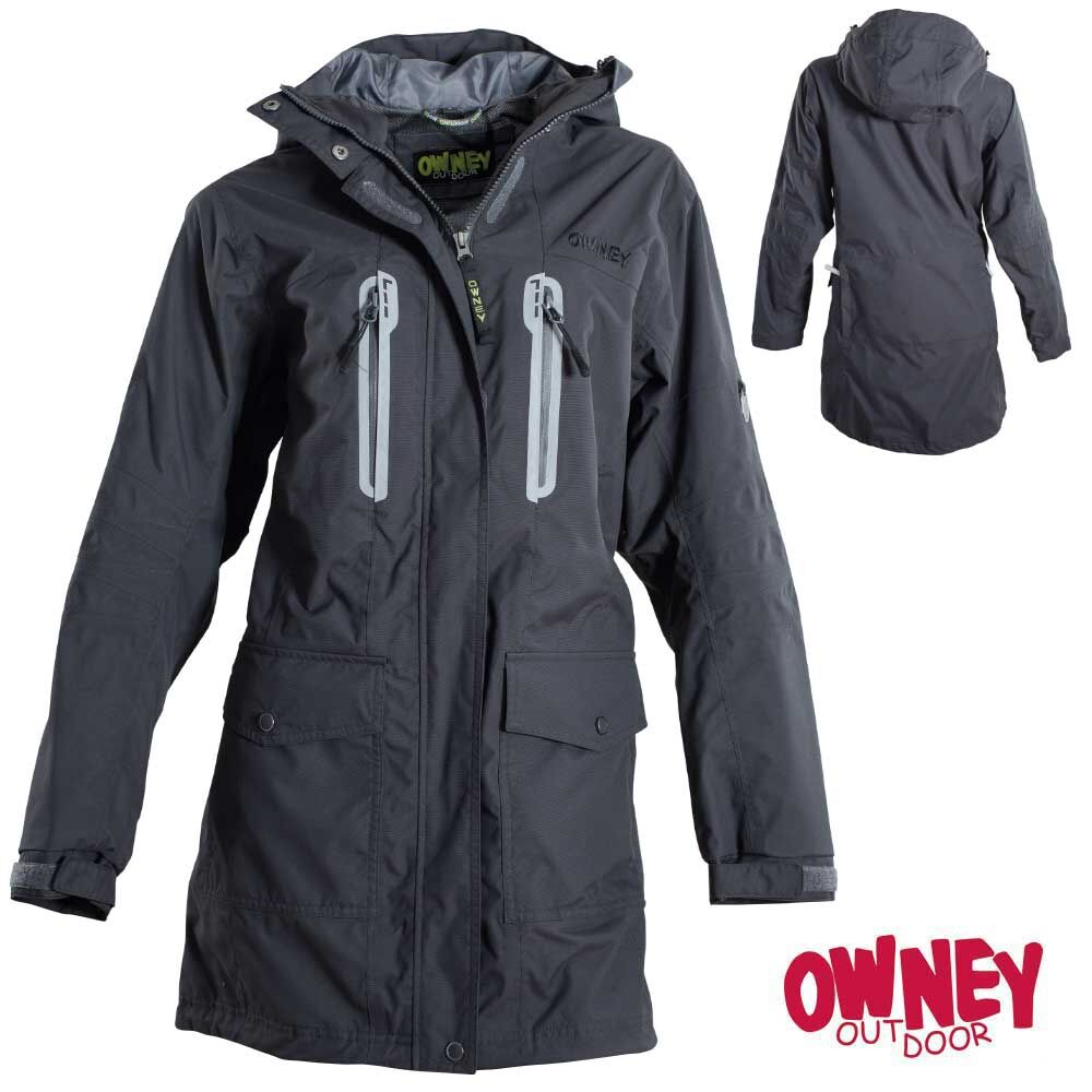 OWNEY Damen-Parka Arnauti, anthracite