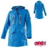 OWNEY Damen-Langjacke Arnauti, alpin blau