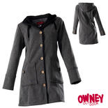 OWNEY Damen Softshell Coat Cosy, grau