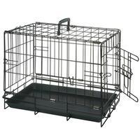 Hunde-Drahtbox -schwarz -