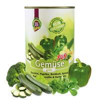 Gemüse PUR - grün