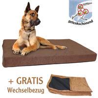 Hundebett DOG ORTHO, Farbe: Braun