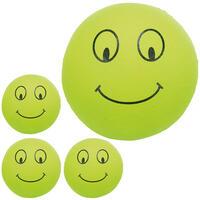 Smiley Moosgummibälle 4-Set