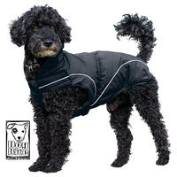 DogBite Winterjacke, gefüttert -Farbe: Schwarz