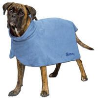 Trocken- und Badetuch für Hunde - jetzt mit dem Namen Ihres Hundes!