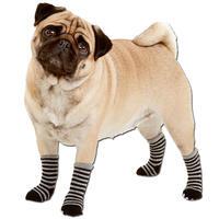 Hundesocken, Farbe: schwarz-grau