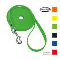 Schecker Biothane® Schleppleine mit Handschlaufe, 10 m / 19 mm