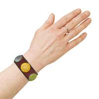 ORNAMENTALO Armband (Unisex), Farbe: Braun