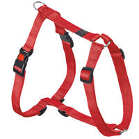 Nylon-Geschirr Sportiv, Farbe: Rot