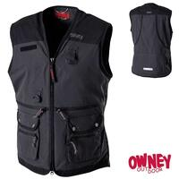 OWNEY Dog Sport Vest Women, anthrazit