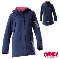 OWNEY Winterparka Damen Albany, marine-pink