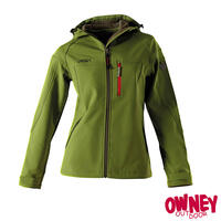 OWNEY Softshell-Jacke Damen Cerro, cedar green
